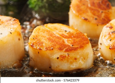Grilled Scallops with Butter