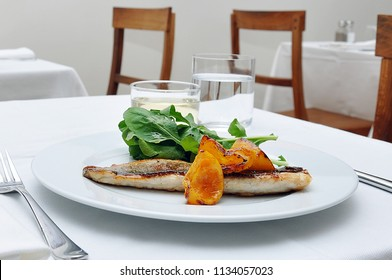 Grilled sea bass aka perch fish