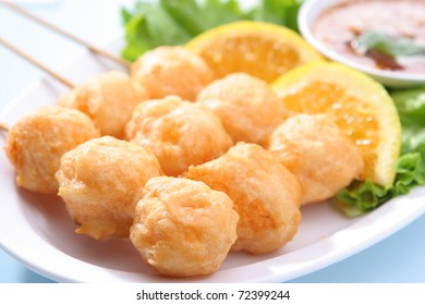 Grilled Shrimp Ball
