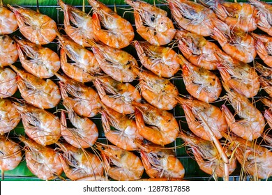 Grilled shrimp or grilled prawn or barbecued shrimp.Eating shrimp may also promote heart and brain health due to its content of omega 3 fatty acids and the antioxidant astaxanthin.
