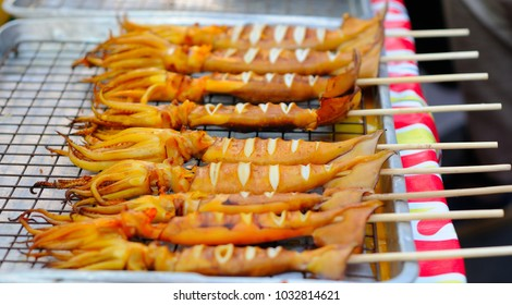 Grilled Squid on Sale