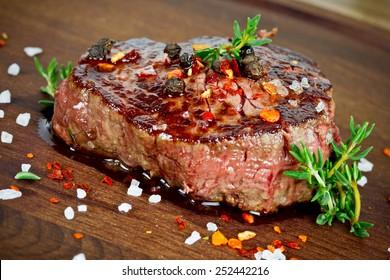 gegrillter Steak