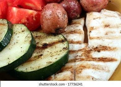 Grilled Tilapia Filet