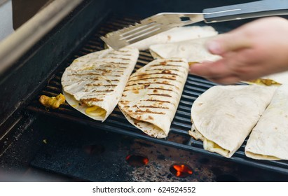 grilled tortilla