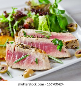 gegrillter Thunfisch