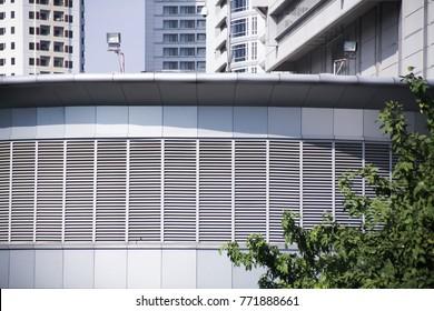Grilles  Louvres  Diffusers Air Ventilation, modern building aluminium composite cladding