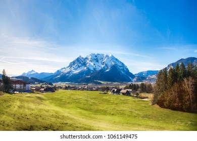 Grimming mountain in Styria (Steiermark) during a beautiful day in spring.