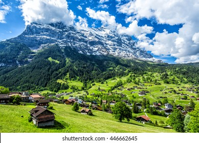 Grindelwald landscape, Switzerland.
