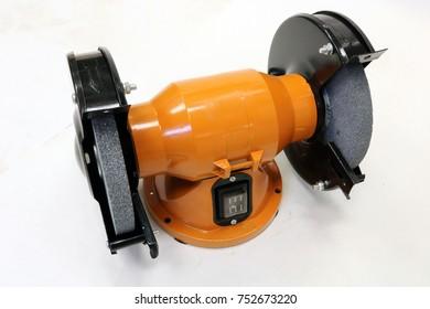 Grinding machine. Bench grinder.