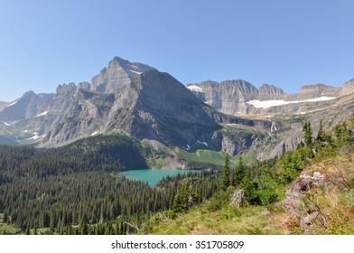 Grinnel Glacier Trail, Glacier National Park, Montana, USA.