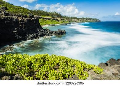 Gris Gris Beach, la roche qui pleure, Mauritius Island