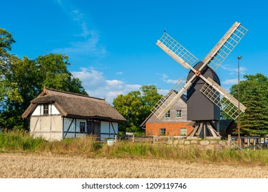 Grist mill  in Altensien. Altensien is a part of town of Sellin on the island of Ruegen