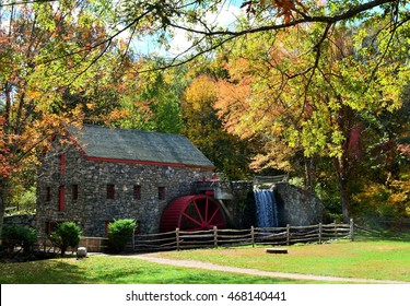 Grist Mill in Autumn