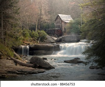Grist mill located at Babcock State Park / Grist Mist Magic / The mystical magic of water in action