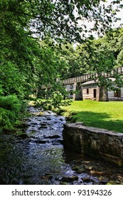 grist mill at Spring MIll State Park