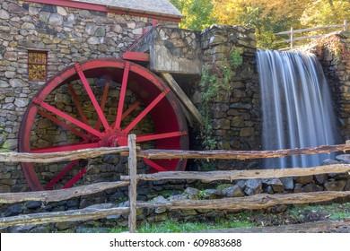 Grist Mill in Sudbury, Massachusetts