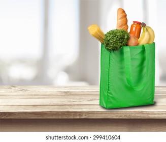 Groceries, Bag, Shopping Bag.