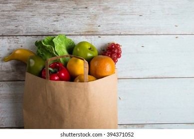 grocery shopping concept photo