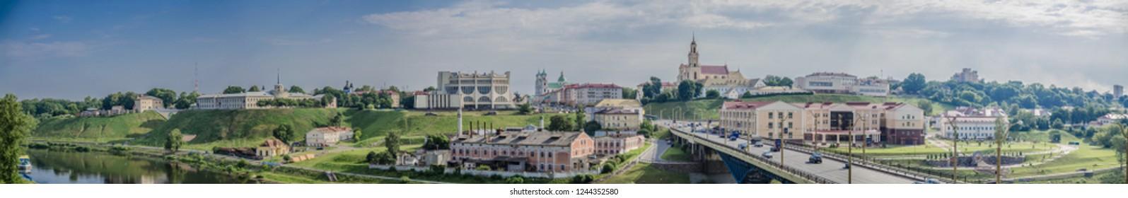 Grodno city in Belarus July 10, 2018