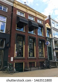 GRONINGEN - JULY 21, 2019: Famous international underground and pop club VERA, where many legendary bands played their first concerts (like U2, Joy Division, Simple Minds,  Nirvana, Soundgarden)