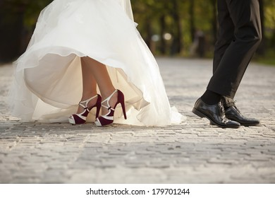 The groom and the bride, wedding details