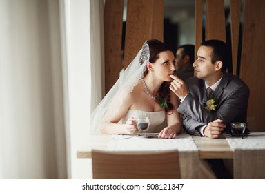Groom cares about his bride