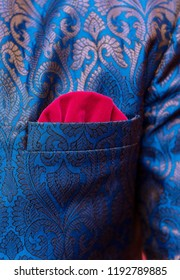 Groom Wedding sherwani details