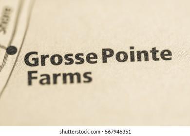 Grosse Pointe Farms. Michigan. USA