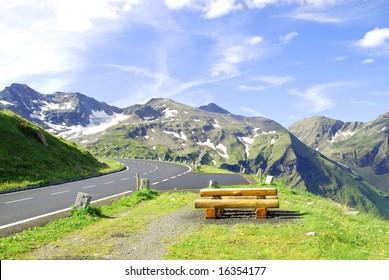 Grossglockner high alpine road.