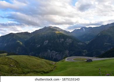 Grossglockner Massif and High Tauern, along Grossglockner Strasse, High Alpine Road, Austria - Shutterstock ID 1875155143