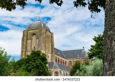 Grote Kerk, Church, in Veere, The Netherlands