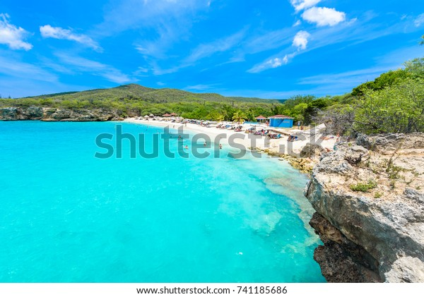 Grote Knip strand, Curacao, Niederländische Antillen - Paradiesstrand auf der tropischen Karibikinsel