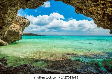 Grote Knip paradise beach, Curacao,