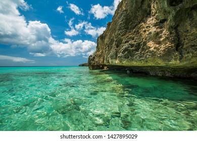 Grote Knip paradise beach, Curasao Tropical beach