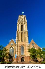 Grote of Sint-Laurenskerk, a church in Rotterdam, Netherlands