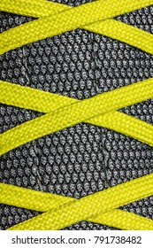Grotex and yellow laces (sneakers with gortex)