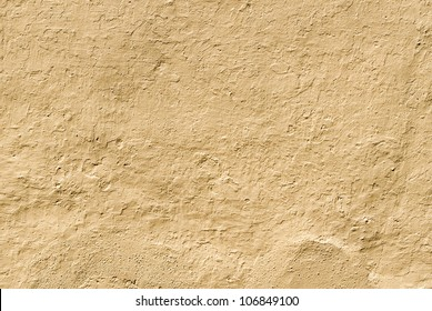 Ground colored wall