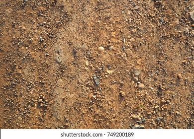 Ground floor texture close up depth of field,brown
