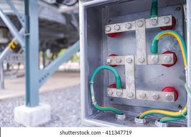 Ground junction box