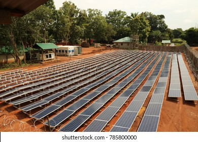 ground mounted solar power plants in africa in south sudan and zimbabwe