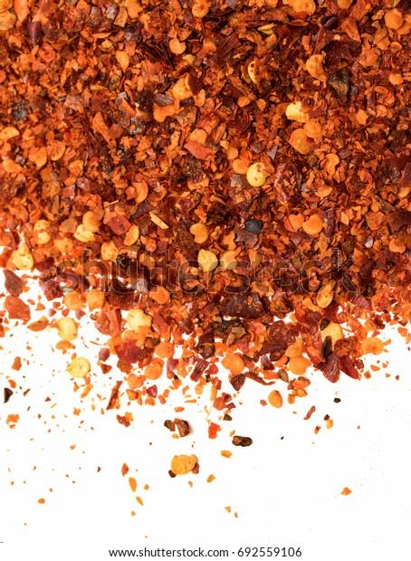 Ground paprika pepper