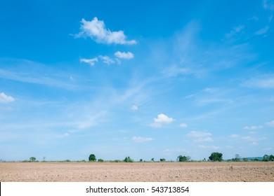 ground and sky
