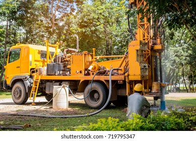 Water Well Drilling Images, Stock Photos & Vectors   Shutterstock
