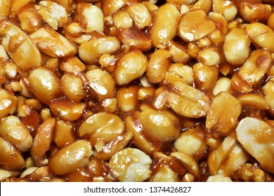Groundnut jaggery chikki the famous Indian healthy snacks