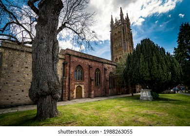 Grounds of St Mary Magdalene in Taunton Somerset