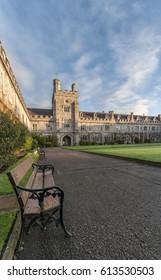 The grounds of University College Cork in Cork City, Ireland.