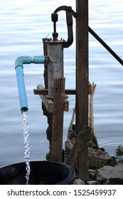 Groundwater or bowels water pump