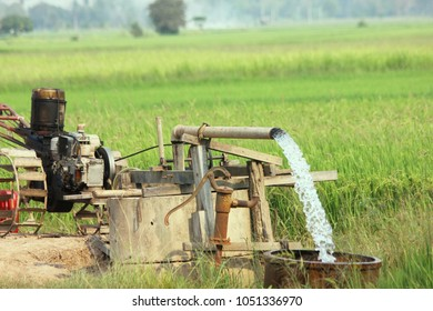 Groundwater pumps for use in farming.