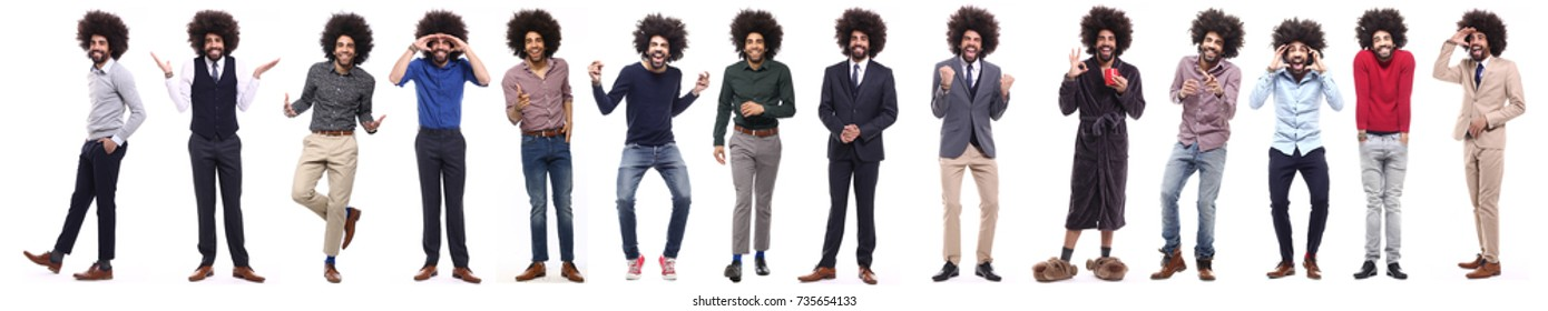 Group of afro
