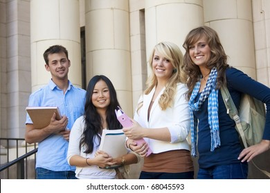 Group of Attractive Students